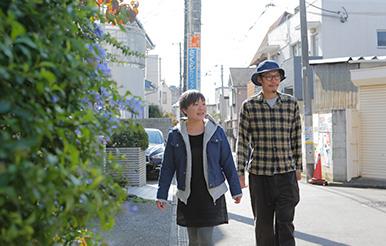 桜新町|しげもりさん・えみさん