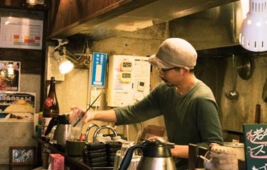 松陰神社前|麺屋かまし|湊文武さん