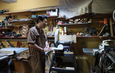 世田谷|みんなの木工房 DIY好き。|堀口丈夫さん