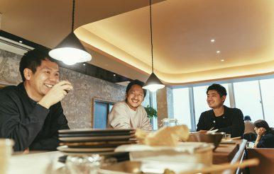 三軒茶屋|三茶WORK|吉田亮介さん、千田弘和さん、土屋勇太さん